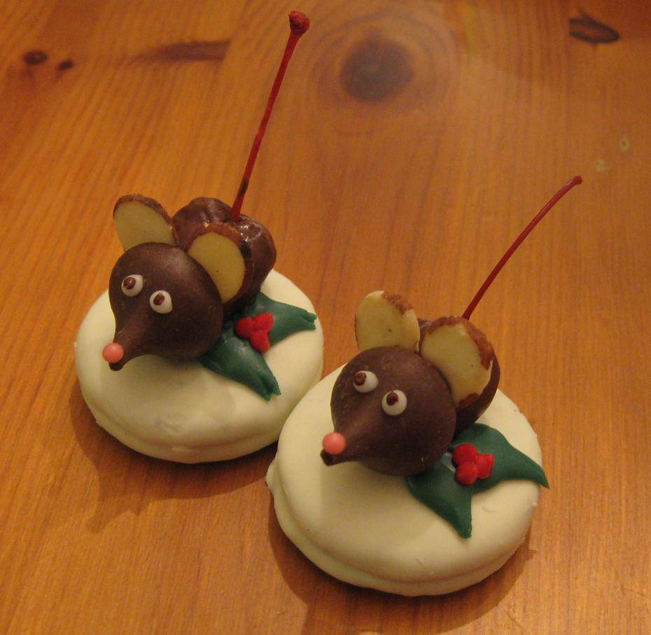 Christmas Mouse Cookies New Year Info 2019