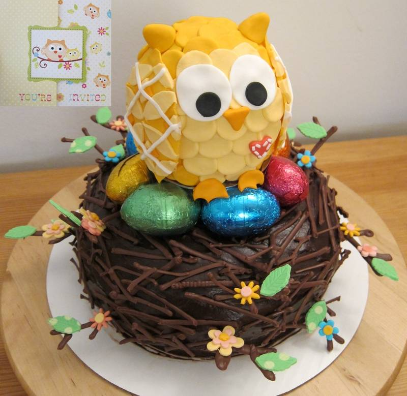 Owl Cupcakes For Baby Shower: SpiffyCake :: Cakes